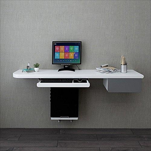 NAN Camera da letto Scrivania con doppio tavolo Scrivania da tavolo fissata  a muro Tavolino angolare Tavolo da trucco multifunzionale Tavolo da trucco  ...