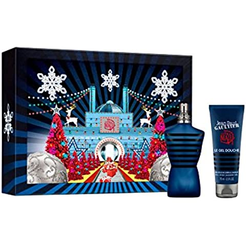 Jean Paul Gaultier Ultra Male Christmas 2016 Gift Set: 75 ml Eau de Toilette EDT & 75 ml Gel de