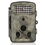 "Crenova 12MP 1080P HD Infrared Game&Trail Camera 42 Pcs IR LEDs 120°Wide Angle Night Vision 2.4"" LCD Display Waterproof Hunting Scouting Camera Digital Surveillance Camera"