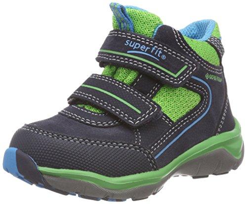Superfit Jungen SPORT5 Hohe Sneaker, Blau (Blau/Grün 81), 26 EU