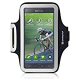Samsung Galaxy Note 4 Case, Shocksock [Reflective] [Black] Samsung Galaxy Note 4 Armband, Sports Gym Bike Cycle... available at Amazon for Rs.1610
