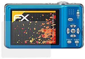 3 x atFoliX Screen Protector Panasonic Lumix DMC-FS30 Screen Protection Film - FX-Antireflex anti-reflective