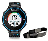 Garmin Forerunner 620 HRM Run Bundle GPS Running, Include Fascia Cardio Premium HRM-Run, Nero/Blu