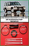 LAND ROVER DISCOVERY MK 2 WABCO AIR SUSPENSION COMPRESSOR PISTON RING REPAIR KIT