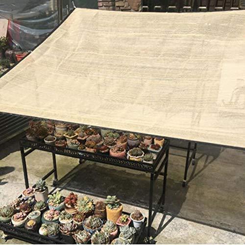 Decken-baldachin Kit (HEEGNPD Garten Schatten Tuch Sonnenschutz Baldachin Net Sonnencreme für Gartenpflanzen Decken Rechteck Sonnennetze Balkon Privatsphäre Bildschirm,2×2.8m)