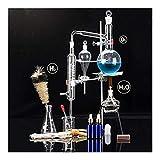 500 ML Distiller Distillazione vetreria di Laboratorio Lab Olio Essenziale di distillazione Apparato Distiller Chimica vetreria di Laboratorio Kit Set