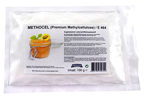 Methocel 100g Methylcellulose/Lebensmittelzusatzstoff E464