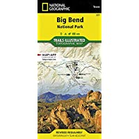 Big Bend NP 225 GPS ng r/v wp/Texas (National Geographic Maps: Trails Illustrated) 3