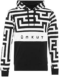 Sweat à capuche Unkut Block Noir