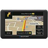 """'Blaupunkt 1091234003Mobile Système de navigation TravelPilot """"53Cam UE LMU 12,7cm (5pouces) Écran tactile–Écran couleur avec Caméra intégrée Noir"""