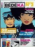 BEDEKA [No 2] du 01/03/2004 - DESSIN DE CLAIRE WENDLING - JEAN VAN HAMME - SPECIAL GREG - KOWAI MANGA - MARVEL - JOE QUESADA ET CHRIS CLAREMONT - LE FUTUR DES X-MEN