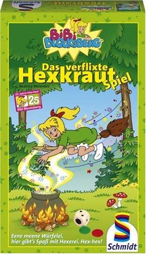 Schmidt-Spiele-Bibi-Blocksberg-Das-verflixte-Hexkraut-Spiel Schmidt Spiele – Bibi Blocksberg, Das verflixte Hexkraut-Spiel -