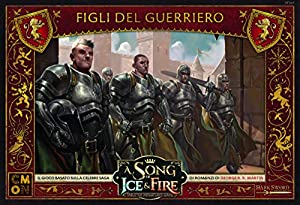 Asmodee Italia-A Song of Ice and Fire Figli del Guerriero Juego de Mesa con espléndidas miniaturas Edición en Italiano, Color 10421