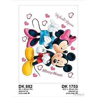 minnie mickey & kisses DK 882, Film Multi-Colour, 65 x 85 cm