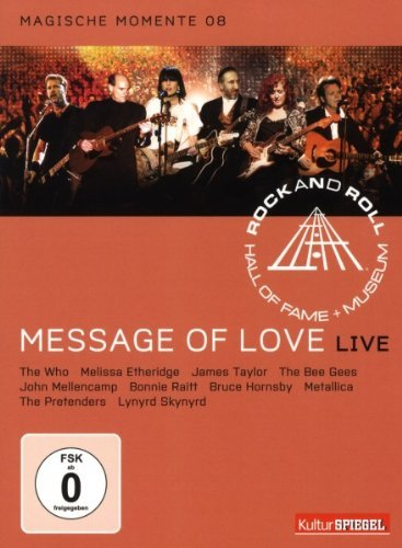 Bild von Rock and Roll Hall of Fame - Message Of Love/Live - Magische Momente 08/KulturSpiegel Edition