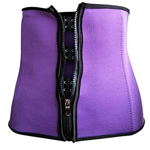 BURFLY Frauen korrigierende Körperformung Unterwäsche stoßfestes Sportkorsett mit Korsett