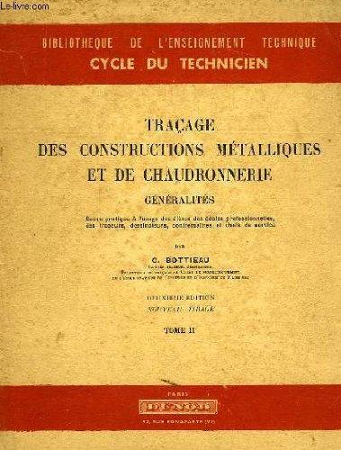 LIVRE TRACAGE CHAUDRONNERIE PDF