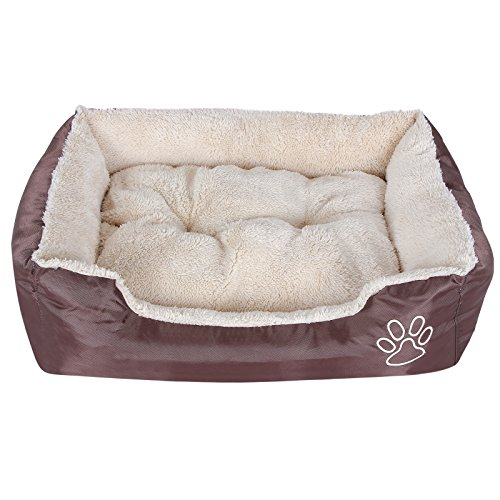 Songmics-Dog-Bed-or-Puppy-Cushion-Oxford-Cloth-with-Removable-Cushion-60-x-48-x-15-cmS-PGW02Z