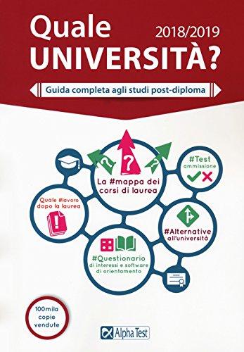 Quale università? Guida completa agli studi post-diploma 2018-2019