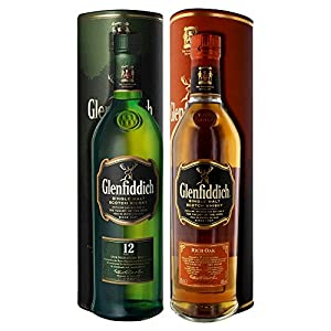 Glenfiddich 12 Year Old 70cl + Glenfiddich 14 Year Old 70cl 2 Bottle Pack by Glenfiddich