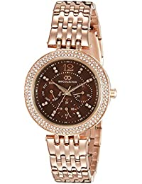 Gio Collection Analog Brown Dial Women's Watch - G2011-77