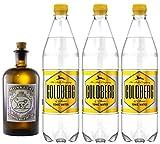 Monkey 47 Gin & 3 x 1,0 Liter Goldberg BIG Tonic Set