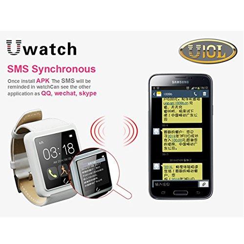 MaMaison007 Original U10L U10S deporte reloj Bluetooth Smart de IOS Android - negro