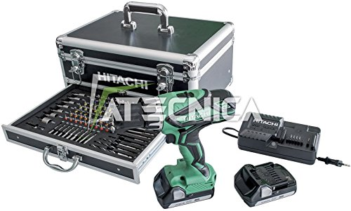 hitachi-perceuse-visseuse-a-percussion-hitachi-dv18djl-18v-coffret-alu-100-pieces