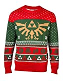 The Legend of Zelda Jumpers Xmas In Hyrule Knitted Men's Sweater Multicolor-2XL