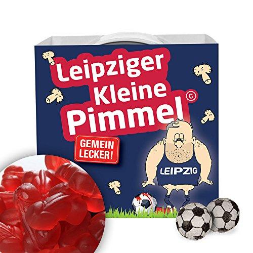 Leipziger Kleine Pimmel | Gemein leckere Fruchtgummi, inklusive Messlatte zum lachen & vergleichen | Achtung: Dynamo-, Rostock- & alle Fußball-Fans aufgepasst, so schön kann Fußball sein
