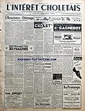 Telecharger Livres INTERET CHOLETAIS L No 51 du 20 12 1958 L ASSURANCE CHOMAGE PAR BERNARD MANCEAU MONDE ACTUALITES LES CONCOURS DE BELOTE AVIS DE MAIRIE REGLEMENTATION DU MARCHE AUX BESTIAUX A L OCCASION DE LA FOIRE CONCOURS CANTONALE D ANIMAUX GRAS REVISION DES LISTES ELECTORALES PAR G PRISSET SYNDICAT DES COIFFEURS AVIS DU GAZ SERVICE CONVERSION GAZ ALLO ALLO ICI LA LUNE XXVE ANNIVERSAIRE DU CLUB DES SIX DE L OUEST DISTINCTION HONORIFIQUE (PDF,EPUB,MOBI) gratuits en Francaise