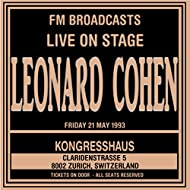 Live On Stage FM Broadcast - Kongresshaus, 21st May 1993