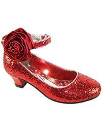 Sparkle Club Ruby - Zapatos de vestir para niña rojo rojo