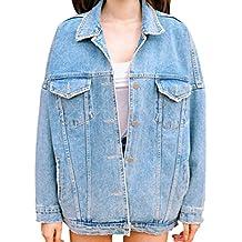 Suchergebnis auf f r jeansjacke damen oversize schwarz - Jeansjacke damen oversize ...