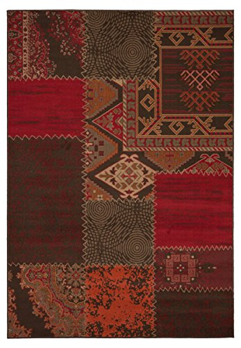 Kayoom 4056216012777 Teppich, 100% Polypropylen-BCF, rot, 110 x 60 cm (Teppich 100 Roten)