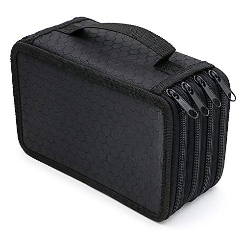 HOTEU - Estuche lápices 72 compartimentos, bolsa