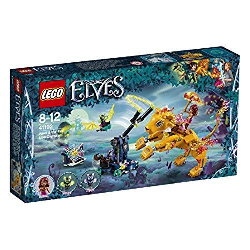 LEGO – 41192 – Elves – Jeu de Construction – Azari et la Capture du Lion de Feu