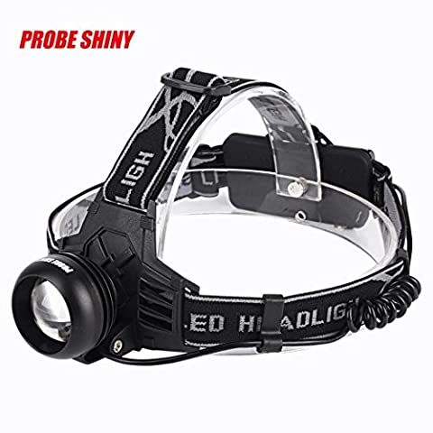 Headlamp ,Ourmall Waterproofing Rechargeable 18650 Headlamp Headlight Head Torch USB 5000Lm