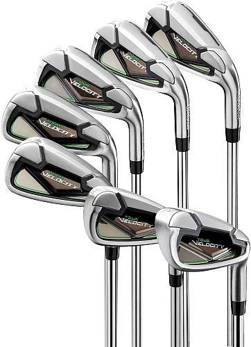 Wilson Golfschläger-Set für Herren, Velocity, 4 PW Stahl