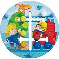 Preisvergleich für Haba 302210 Motorikbrett Feuerwehr-Welt, Kleinkindspielzeug