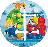Haba 302210 Motorikbrett Feuerwehr-Welt, Kleinkindspielzeug