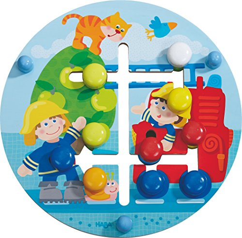 HABA 302210 Juego Educativo - Juegos educativos (Multicolor, Child, Niño/niña, 1 año(s), Fire Brigade, Madera)