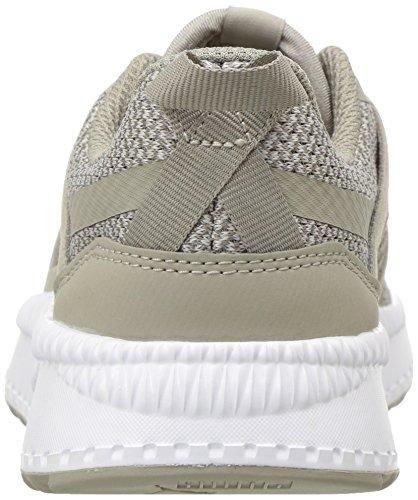 PUMA Unisex-Kids Pacer Next Net AC Sneaker  Elephant Skin-Elephant Skin White  11 M US Little Kid