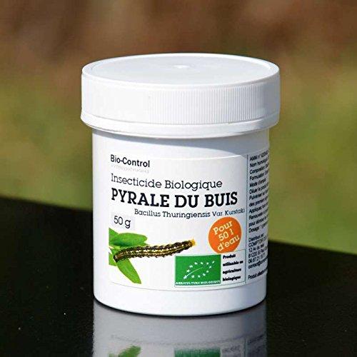 50g Box (Bio Control Insektizid Bio Buchsbaumzünsler im Bazillus thuringiensis–Box 50g ag-biocpyr)
