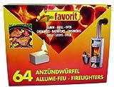 favorit 1249 Anzündwürfel für Grill