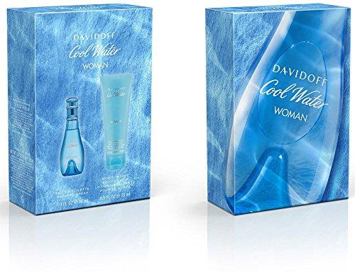 Davidoff Cool Water woman - EDT 30 ml + BL 75 ml, 1er Pack (1 x 217 g)