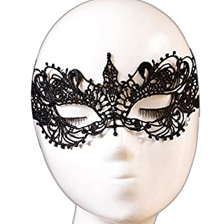 Atdoshop(TM) Fashion Flower Mesh Polyester Fiber Lace Mask for Halloween Cosplay Masquerade