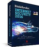 Bitdefender Internet Security 2016- 3 PCs, 1 Year (CD)