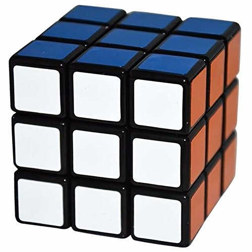 Zest 4 Toyz Shengshou 3X3X3 Puzzle Cube Black- Color And Design May Vary