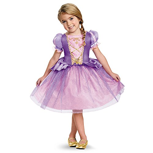 Toddler Kostüm Rapunzel - Disguise 82914L Rapunzel Toddler Classic Costume, Large (4-6x) by Disguise